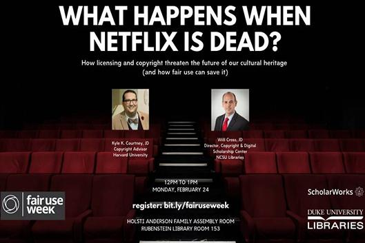 What Happens When Netflix Is Dead flyer