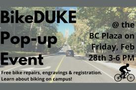 BikeDUKE Pop-Up Event