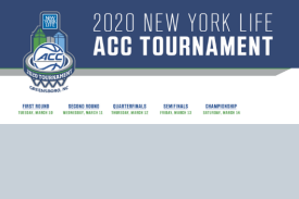 Men's ACC 2020 Basketball Tournament, Greensboro, NC
