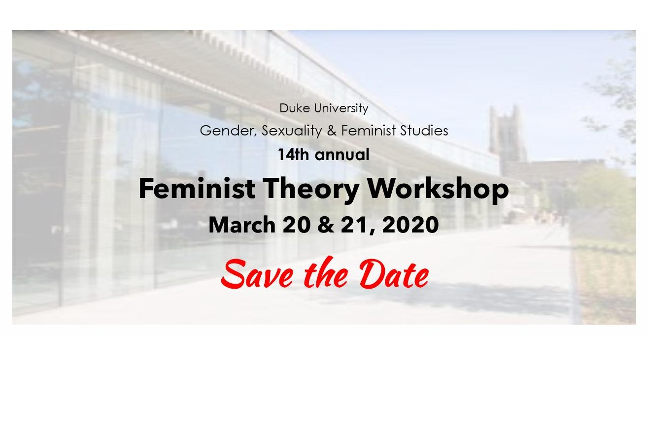 Feminist Theory Workshop