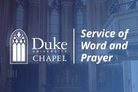 Service of Word and Prayer