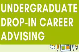 undergraduate drop-in career advising