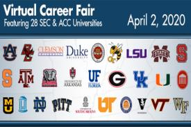 Virtual Career Fair Featuring SEC and ACC Universities