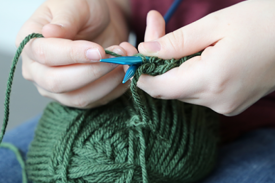 getting started with knitting