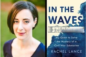 Rachel Lance author photo and book cover image