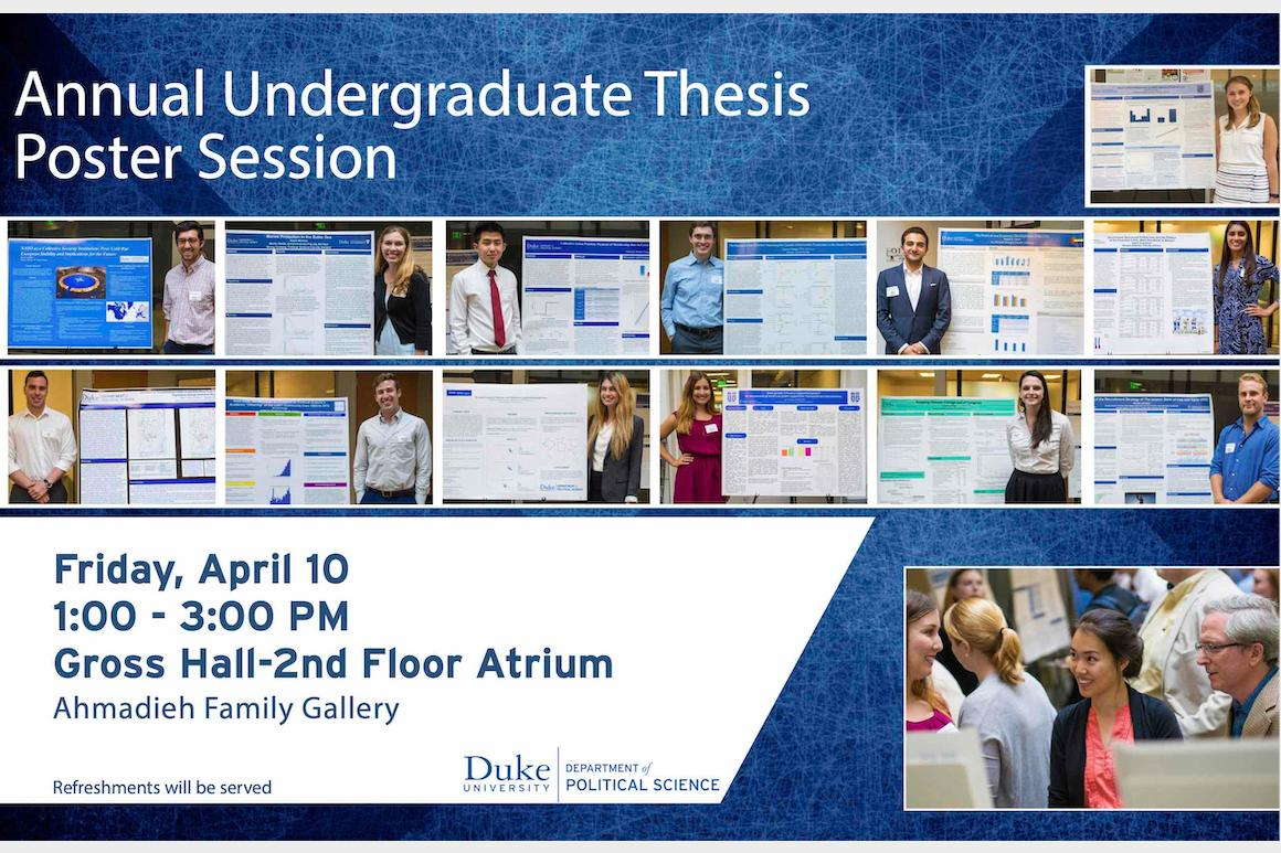 Poster Session 2020