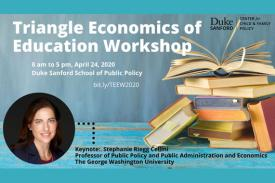 Triangle Economics of Education April 24, 2020