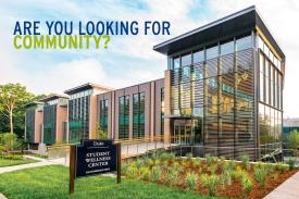 Are you looking for community? Picture of the wellness center