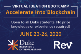 Virtual Ideation Bootcamp Accelerate Into Blockchain June 23-26, 2020