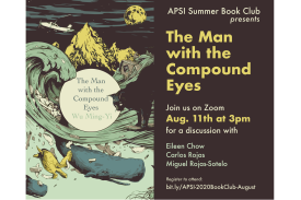 APSI 2020 Book Club - August - Man With the Compound Eyes