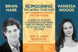 A Conversation with Brian Hare and Vanessa Woods