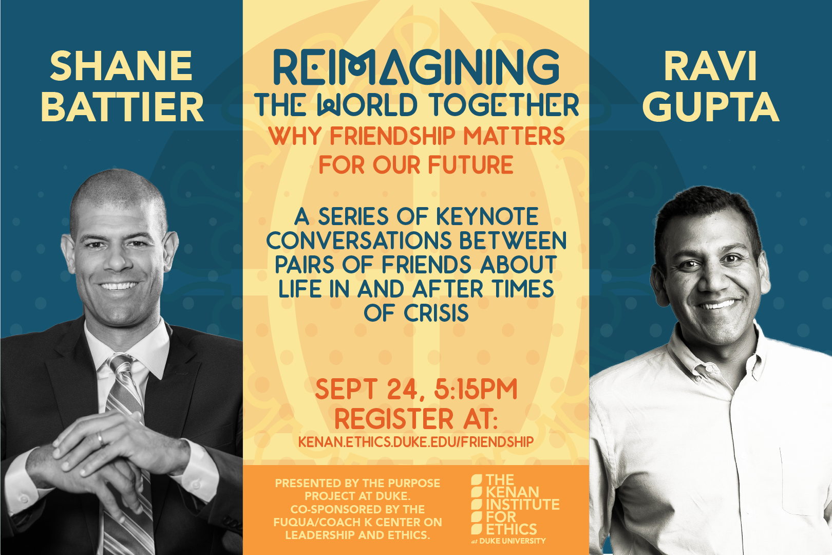 Reimagining the World Together: A Conversation with Shane Battier and Ravi Gupta