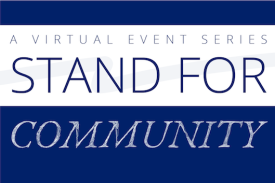 Stand for Community Event on Oct. 13