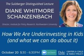 How We Are Underinvesting in Kids (and What We Can Do About It), Oct. 20