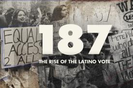 poster for 187: Rise of the Latino Vote