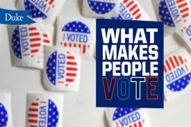 "I voted sticker images with text ""what makes people vote"""