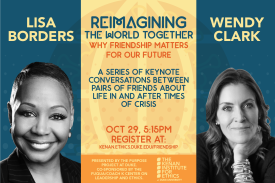 A conversation with Lisa Borders and Wendy Clark