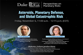 Asteroids, Planetary Defense, and Global Catastrophic Risk