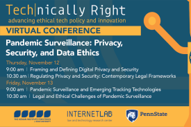 Pandemic Surveillance: Privacy, Security, and Data Ethics