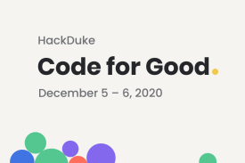HackDuke: Code for Good 2020