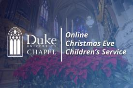 Online Christmas Eve Children's Service
