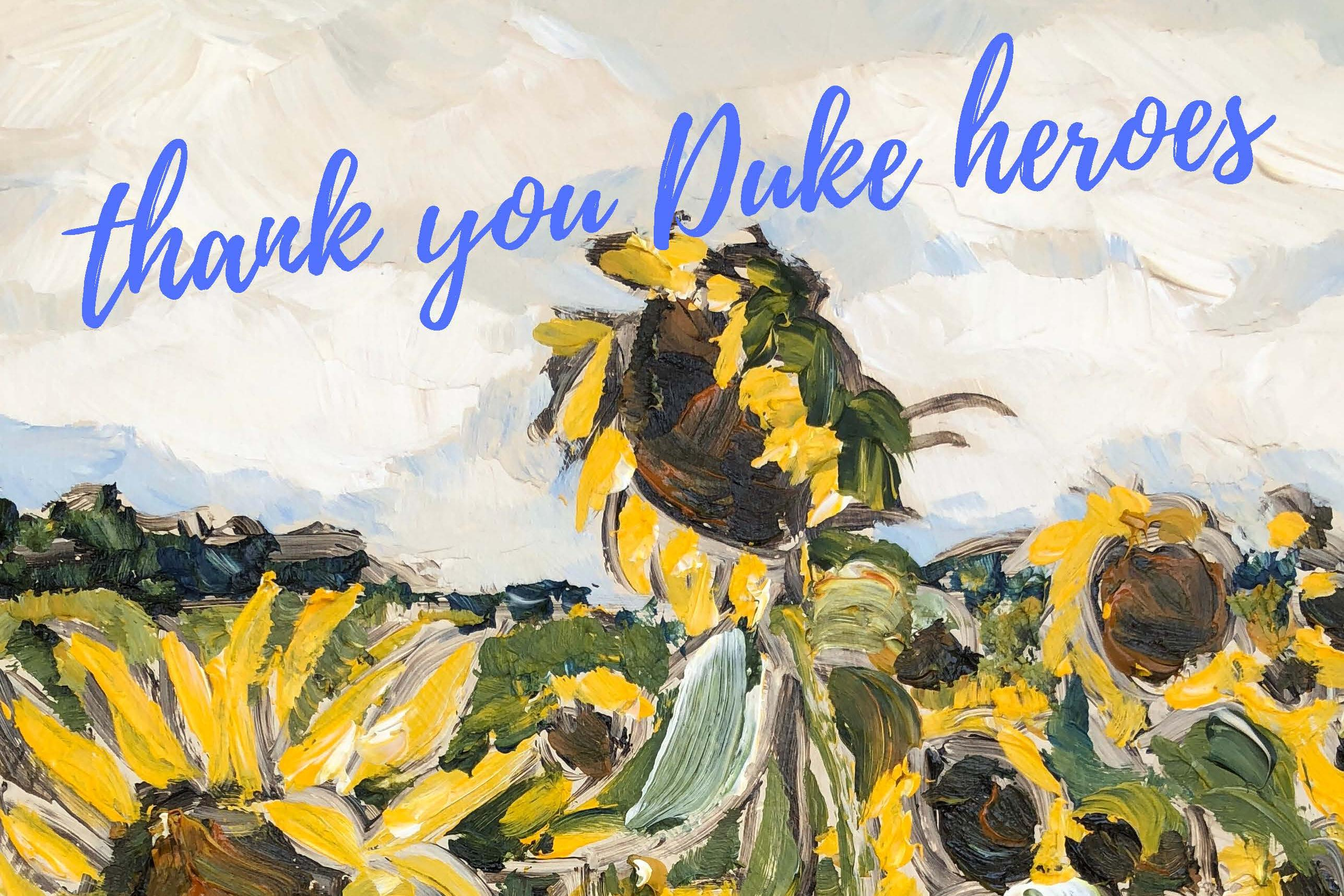 Duke Health Appreciation Project
