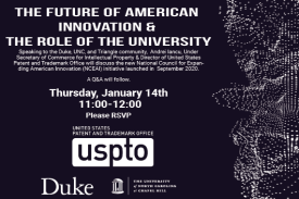 USPTO: The Future of American Innovation and the Role of the University
