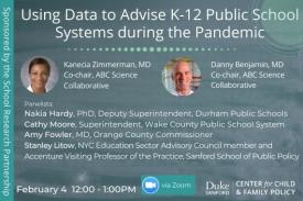 Using Data to Advise K-12 Public School Systems during the Pandemic