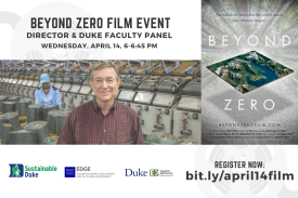 Beyond Zero Film Event! Register now: bit.ly/april14film