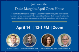 Image showing panelist for open house