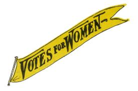 Votes for Women flag