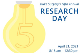 Duke Surgery 5th Annual Research Day