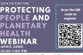 Register for The Protecting People and Planetary Webinar