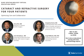 Cataract and Refractive Surgery for Your Patients: Optimizing Care and Collaboration