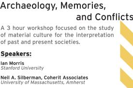 Archaeology, Memories, and Conflicts Flyer