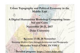 Urban Topography and Political Economy in the Middle East