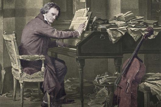 Beethoven's Cello book cover