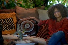 Course instructor Jaki Shelton Green