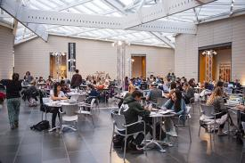 Duke Student Study Hall at the Nasher
