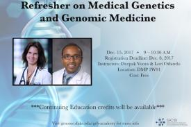 Refresher on Medical Genetics and Genomic Medicine