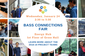 Bass Connections Fair
