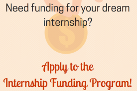 Need funding for your dream internship?