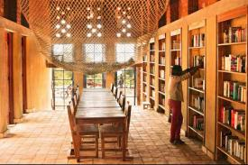 Library of Muyinga in Burundi