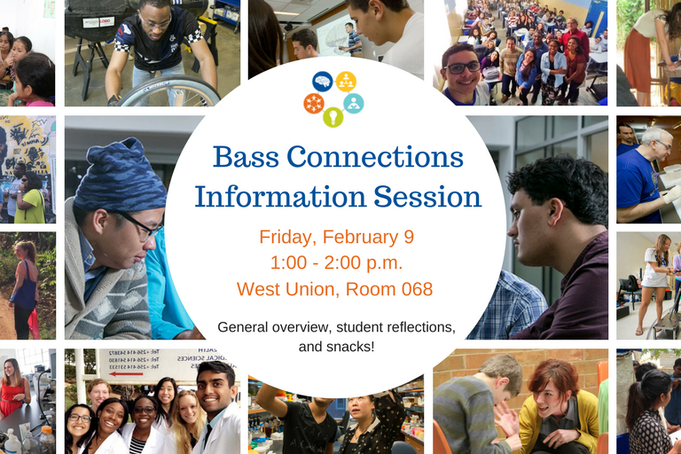 Bass Connections info session