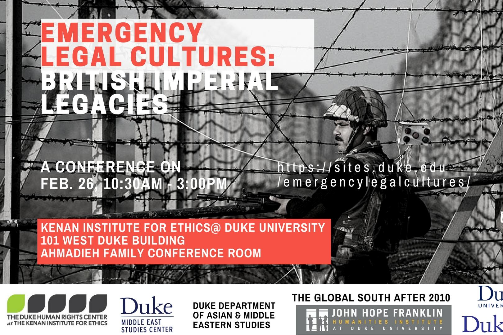 Emergency Legal Cultures
