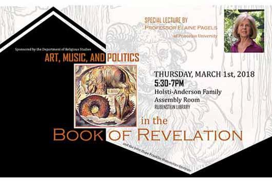 Art, Music, and Politics in the Book of Revelation