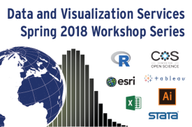 Data and Visualization Services:  Spring 2018 Workshop Series