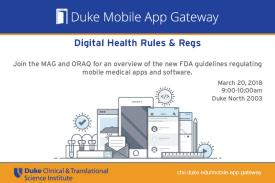 MAG Digital Health Rules & Regs flyer