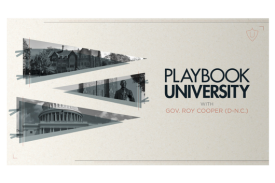 Playbook University flier