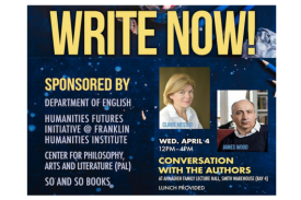 Poster for Write Now! Conversation with the Authors